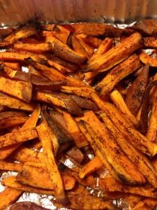 Roasted Sweet Potato Fries…A Healthy Daniel Fast Friendly Treat!