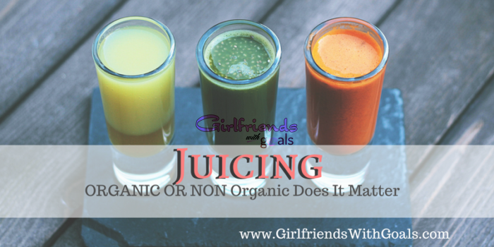 IS IT OK TO JUICE NON ORGANIC FRUITS & VEGGIES