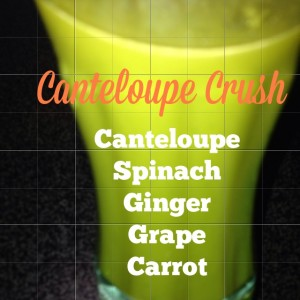 Cantaloupe Crush – Another Juicing Recipe For You To Try