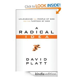 Kindle Book On Sale $1.99 A Radical Idea by David Platt $1.99