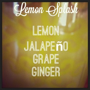 Power Up Lemon Splash This Refreshing Drink With Jalapeños!