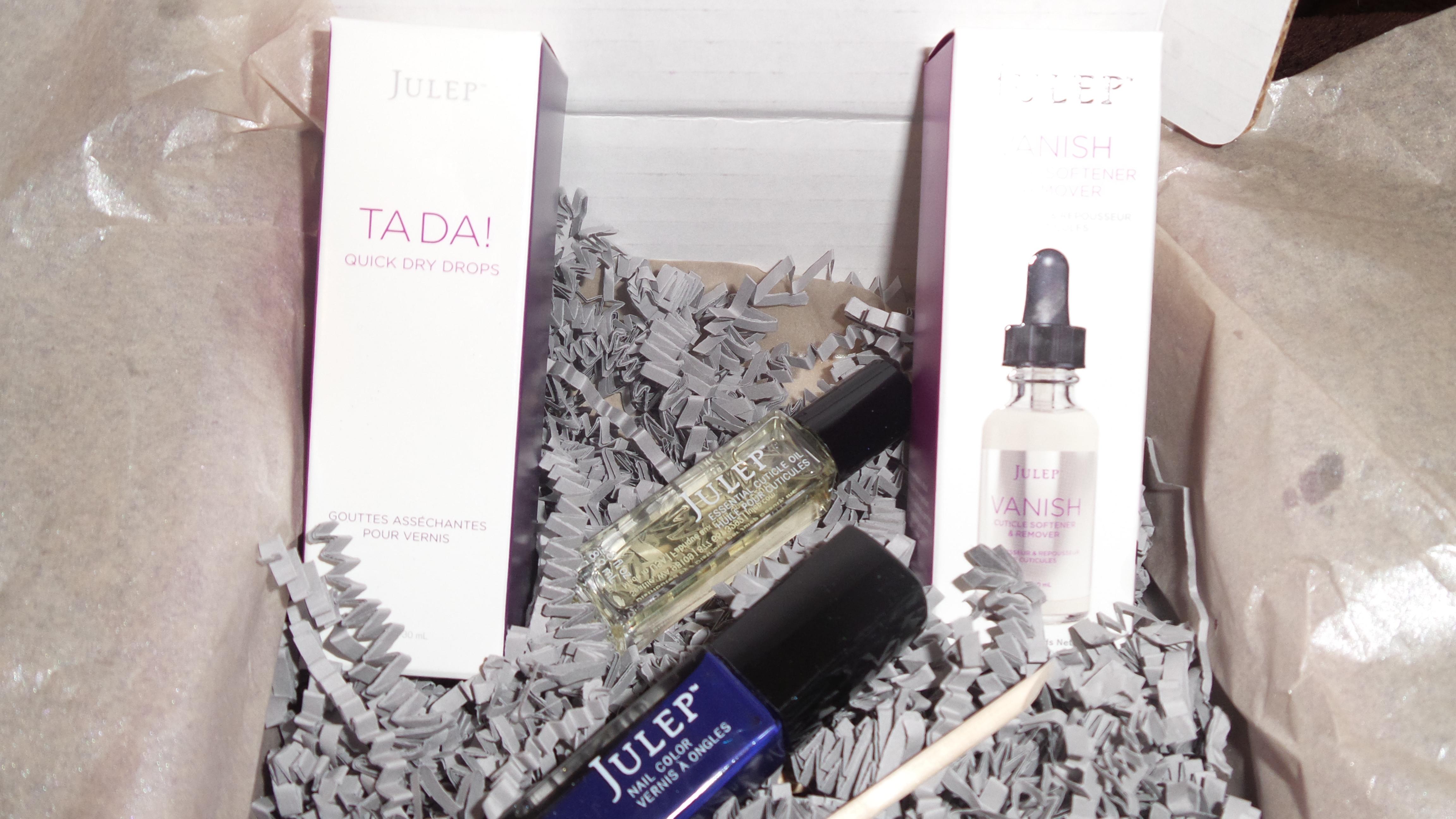 Get FREE Nail ColorThe January Julep Box