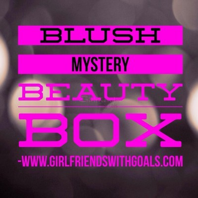 Blush Mystery Beauty Box UnBoxed and Unveiled Jan 2014