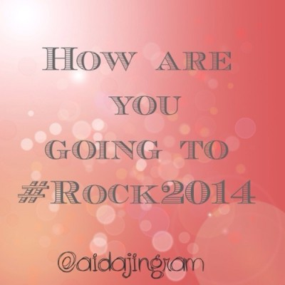 What's Your Word? #Rock2014