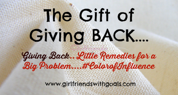The Gift of Giving Back