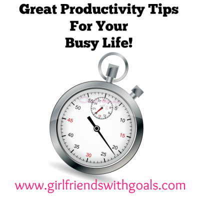 Great Productivity Tips To Help You Enjoy #WhatMatters Most