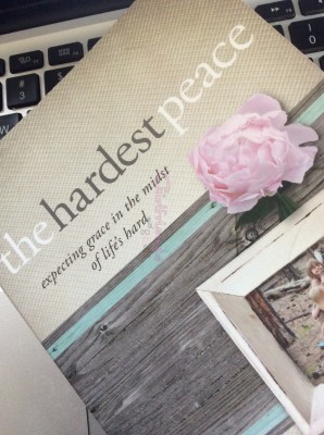 Book review of The Hardest Peace by Kara Tippetts