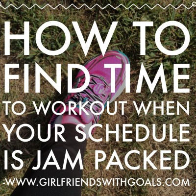 How To Find Time To Workout When You Your Schedule Is Jam Packed?  Why It's Not A Good Idea To Blow Off Your Workout