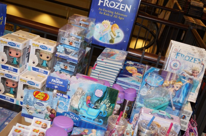 Frozen books.JPG