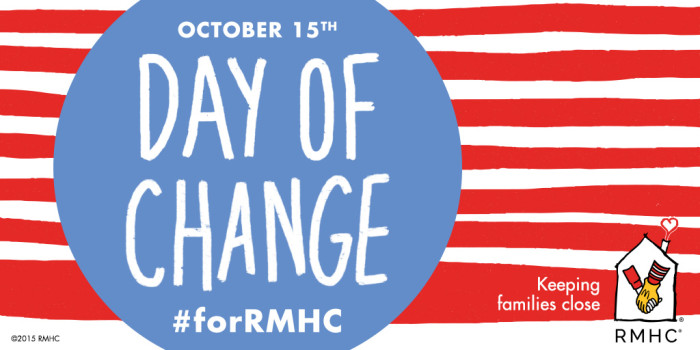 Your Change Goes A Long Way #forRMHC