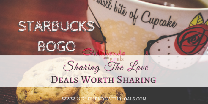 Have A Drink & Bring A Friend @Starbucks