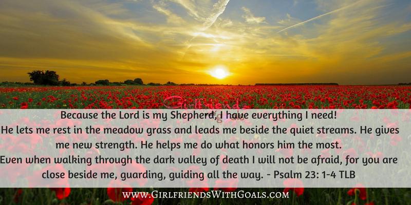 Psalm 23 1-4