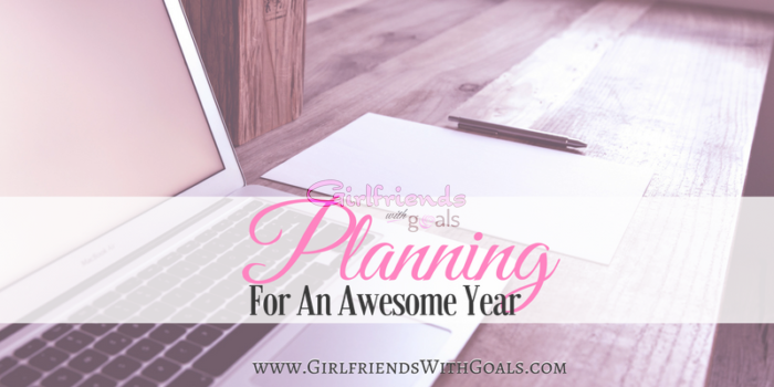 How I Am Planning For An Awesome New Year