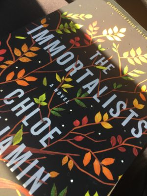 The Novel That I Just Couldn't Put Down, The Immortalists
