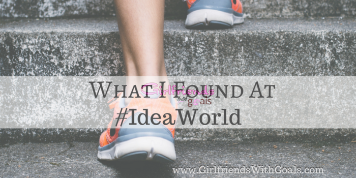 Where Health & Fitness Come Alive #IdeaWorld #SweatPink